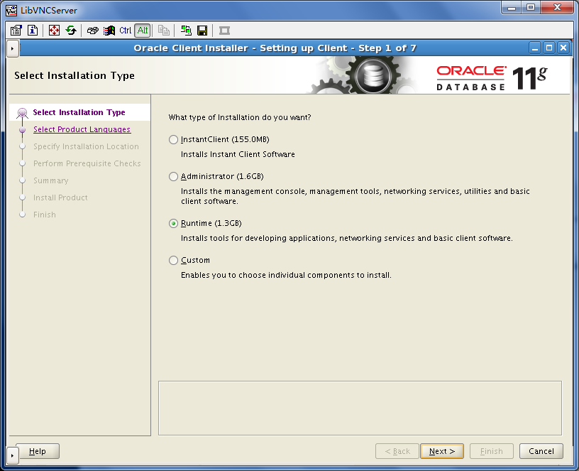 31 3  Installing Oracle Client